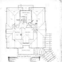 Image of Lindow Attic and Roof plan
