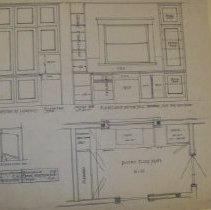 Image of 4. Cupboards and pantry plans for Frank Herstmeyer