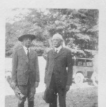 Image of 2008.218.3 - Elmer Bickford and John L. Shearer founding Napa's Boy Scouts