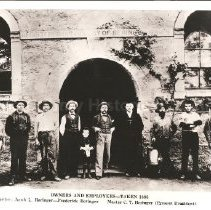 Image of 2008.82.1 - Beringer Brothers - Owners and Employees, 1895