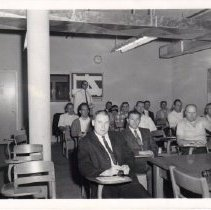 Image of Law Enforcement Class at Napa College ca. 1960s.