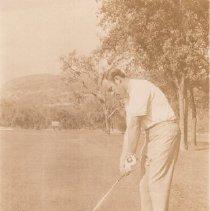 Image of 2011.61.1974 - Golfer at Kaiser International Open