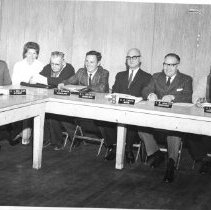 Image of Yountville City Council, 1966.