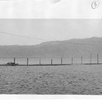 Image of 2011.61.883 - Lake Berryessa, during the 1965 flood.