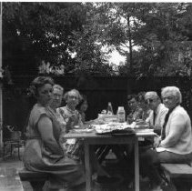 Image of 2012.20.64 - Family at Picnic Table