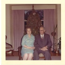 Image of 2012.20.68 - Couple at Christmas