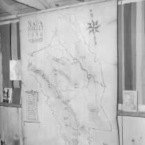 Image of 2013.2.161 - Map of ranchos in 1846