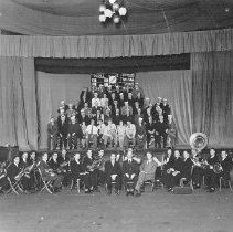 Image of 1983.18.29a - Orchestra with their instruments