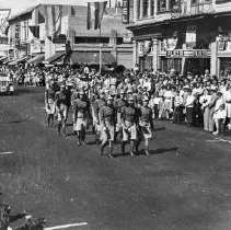 Image of 1980.42.104 - Girls Drill Team in a Napa Parade