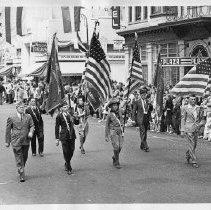 Image of 1980.42.12 - Napa Fair Parade with Color Guard