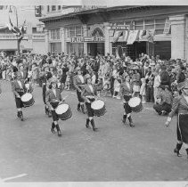 Image of 1980.42.21 - Girls Drum Corps in Napa parade