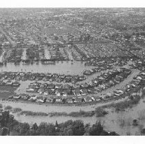 Image of 2011.61.3012 - 1985 Flood Aerial View