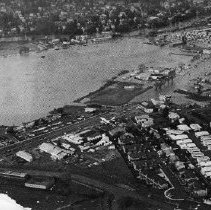 Image of 2011.61.3017 - Aerial Photo of the 1985 Flood