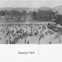 Image of 2014.2.111 - Exercise yard at Napa State Hospital