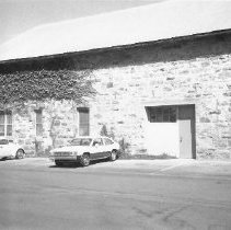 Image of 2014.2.185 - Stone building on grounds of Napa State Hospital ca. 1960s