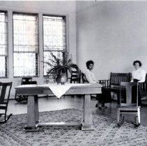 Image of 2014.2.79 - Napa State Hospital interior photograph