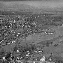 Image of 2014.2.189 - Aerial Photo of the 1940 Flood
