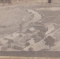Image of 2000.29.39 - Aerial View of Sawyer Tannery