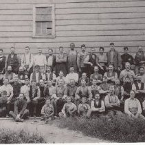 Image of 2000.29.49 - Tannery Employees, 1899