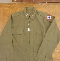 Image of 1982.2.9b - Officer Dress Shirt