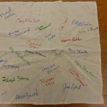 Image of 2011.75.323 - Signed Hankerchief