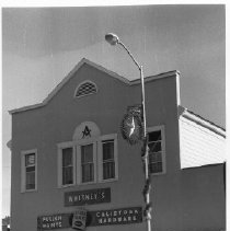 Image of Masonic Hall at 1334-1336 Lincoln Ave., Calistoga
