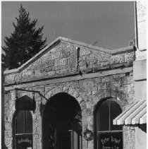 Image of C. A. Stevens Bank Building at 1339 Lincoln Ave., Calistoga