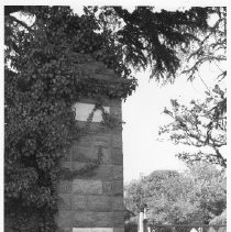 Image of 2012.69.4.16 - Pillar at the Old Entrance to Tulocay Cemetery