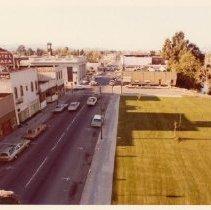 Image of 2012.68.25.62 - Businesses at Main, November 2, 1974
