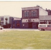 Image of 2012.68.25.76 - Main St. from Veterans Park, July 27, 1980