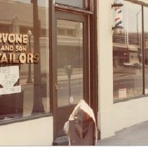 Image of 2012.68.25.82 - Cervone and Son Tailors, July 27, 1980