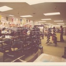 Image of Interior of Carithers Department Store, April 29, 1974