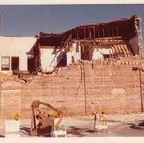 Image of Demolition of Old Carithers Building, January 7, 1977