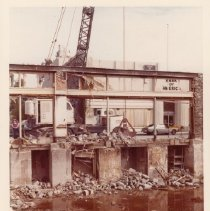 Image of Demolition of Old Carithers Building, January 22, 1977