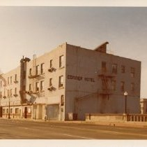 Image of Connor Hotel on Main St., December 6, 1975