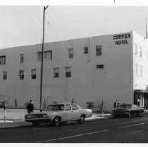 Image of Connor Hotel on Main St., October 31, 1977