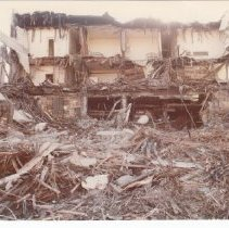 Image of Demolition of Connor Hotel on Main St., October 4, 1978