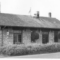 Image of Napa Valley Railroad Depot, 6525 Washington St., Yountville