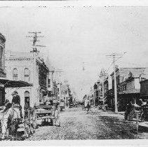 Image of 2015.2.19 - Photo of Main Street, Napa, with Dolorez Juarez