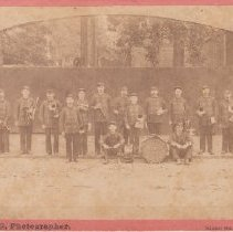 Image of 2015.2.20 - Portrait of the Excelsior Brass Band