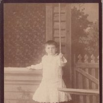 Image of 2015.32.2 - Portrait of Claire Goodman as a child