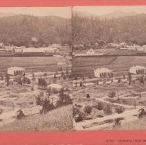 Image of 2015.35.11 - Stereoscope of Calistoga