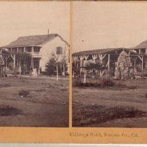 Image of 2015.35.9 - Stereoscope of the petrified grotto