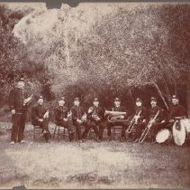 Image of 1977.8.4 - Monticello Band about 1905