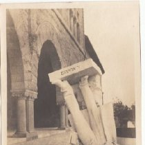 Image of 2015.39.24 - Toppled Louis Agassiz statue