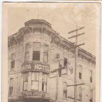 Image of 2015.49.25 - Photograph of the Napa Hotel