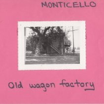 Image of 2016.43.2 - Wagon factory in Monticello