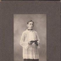 Image of 1991.19.9 - Portrait of Arthur Shouse as an altar boy