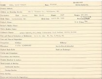 Image of Selective Service Record - X1994.63.126
