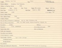 Image of Selective Service Record - X1994.63.155